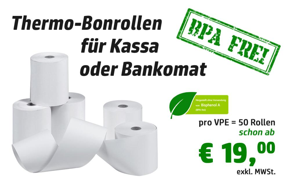 Thermorollen BPA-frei
