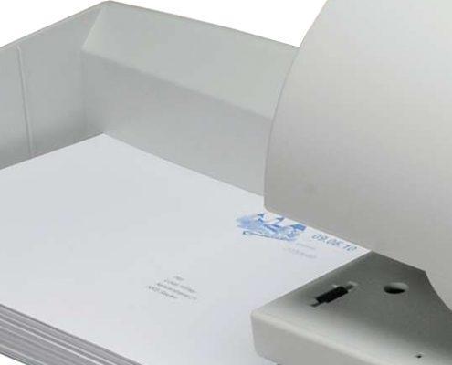 Frama Frankiermaschinen Briefablage