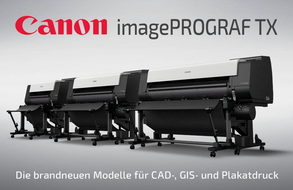 Canon Image-Prograph-TX-Großformat-Plotter