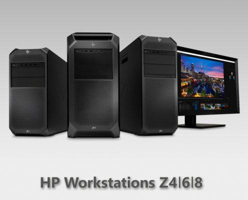 HP Workstations Z4 Z6 Z8 neue Generation