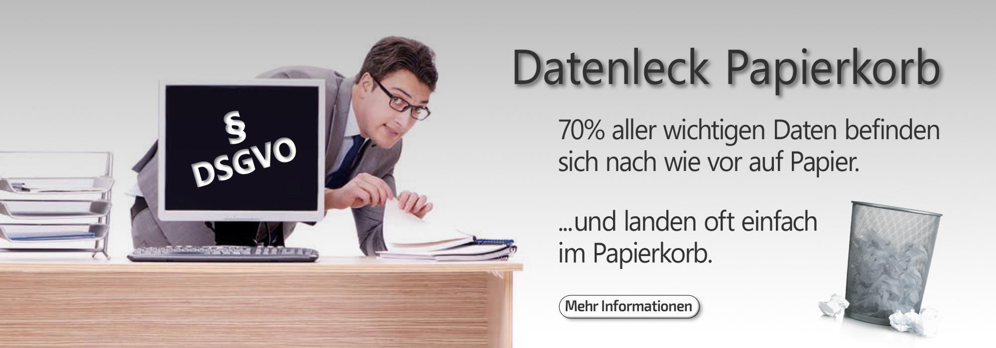 DSGVO-Datenschutz im Büro